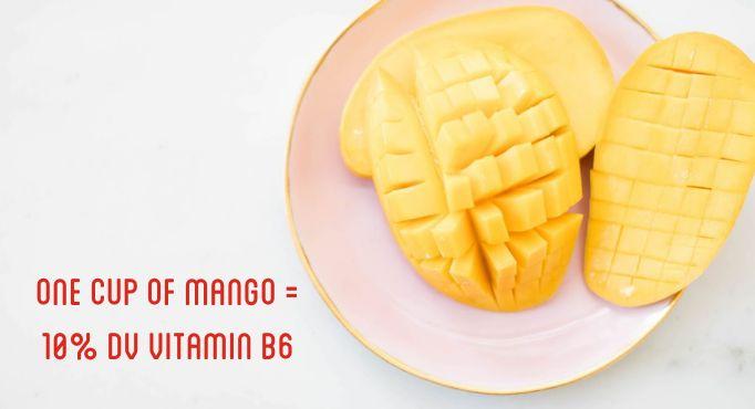 Vitmain B6 and Mangos