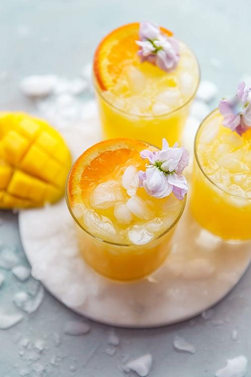 Dry January - mango citrus punch