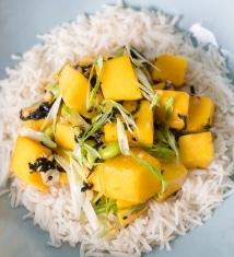 Mango Poke Bowl