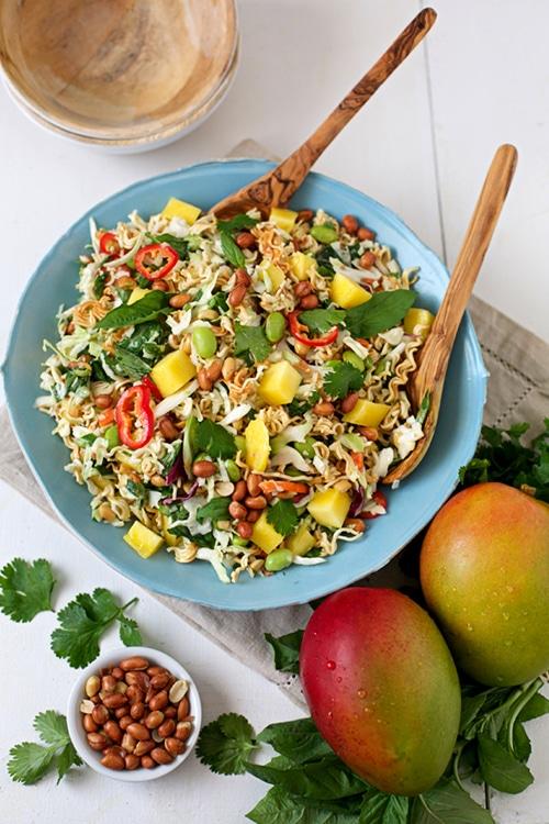 Ramen Noodle & Mango Salad