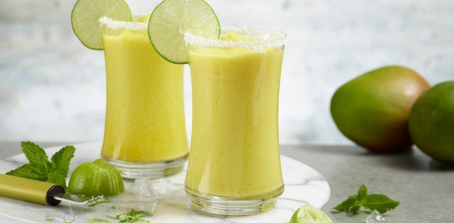 Mango Biche Lemonade Frappe Header