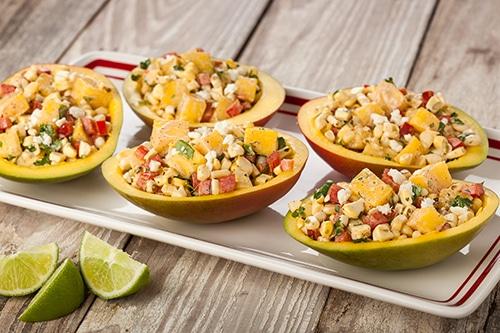 Grilled Mango Corn Salad