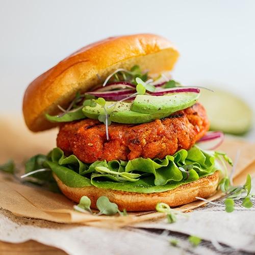 Salmon Jerk Burgers
