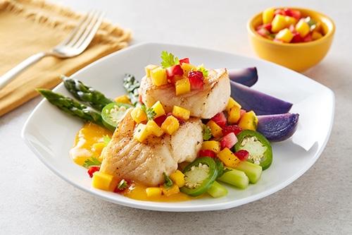 Mango-Pan-Seared-Cod-Recipe