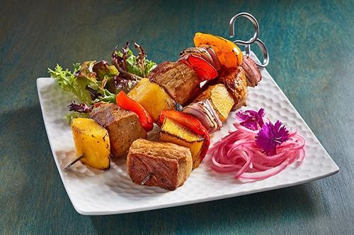 Indonesian-Spicy-Mango-Pork-Skewers