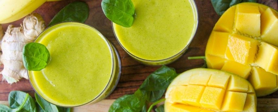 zingy-ginger-mango-smoothie image