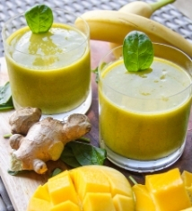 zingy-ginger-mango-smoothie image